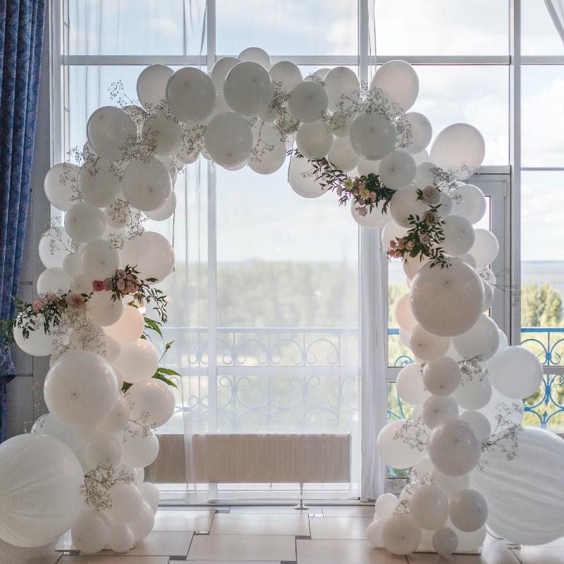 婚禮佈置 婚禮空飄 愛心空飄 求婚告白