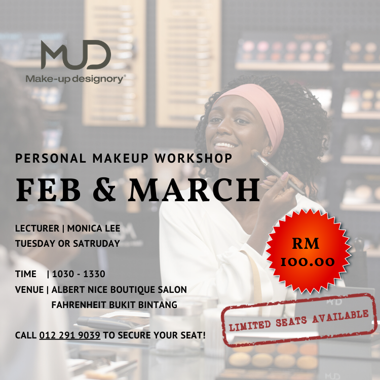 Personal Makeup Workshop, Nica Professional Makeup, Monica Lee, Albert Nico Boutique Salon, Makeup, I love Makeup