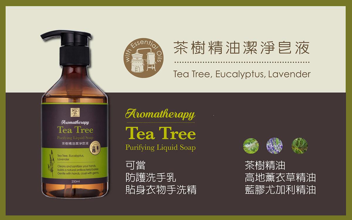 茶樹精油潔淨皂液 洗手乳
