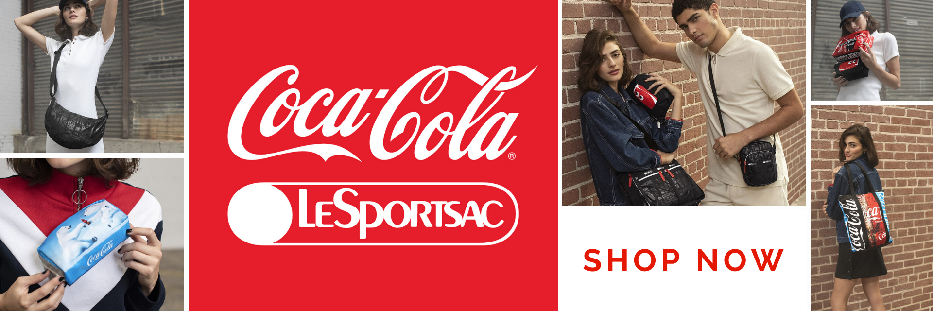 lesportsac x coca cola 可口可樂聯名系列