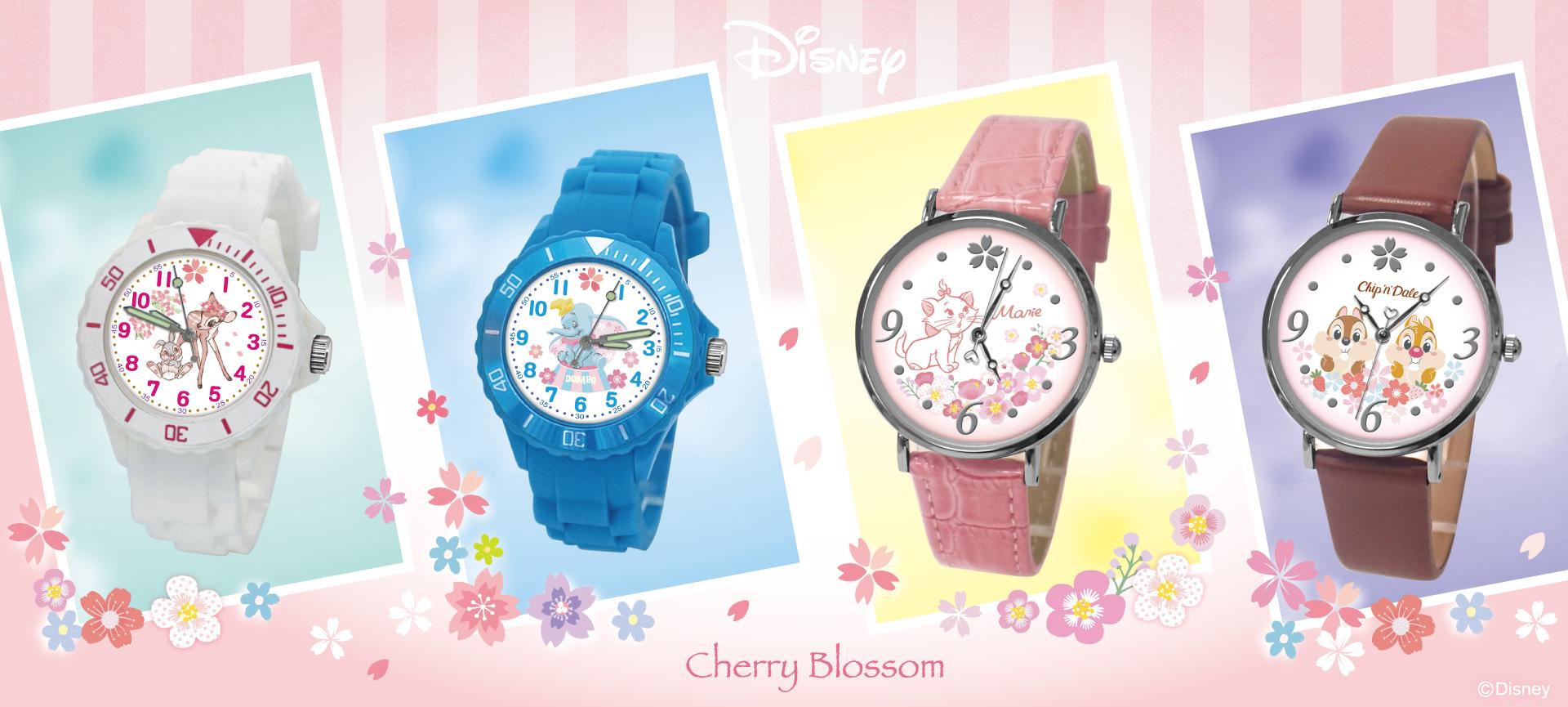 迪士尼櫻花季手錶配件