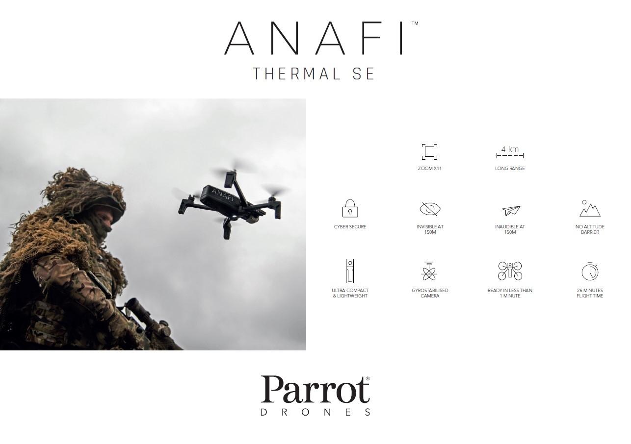 Parrot Anafi Thermal SE- Contact us