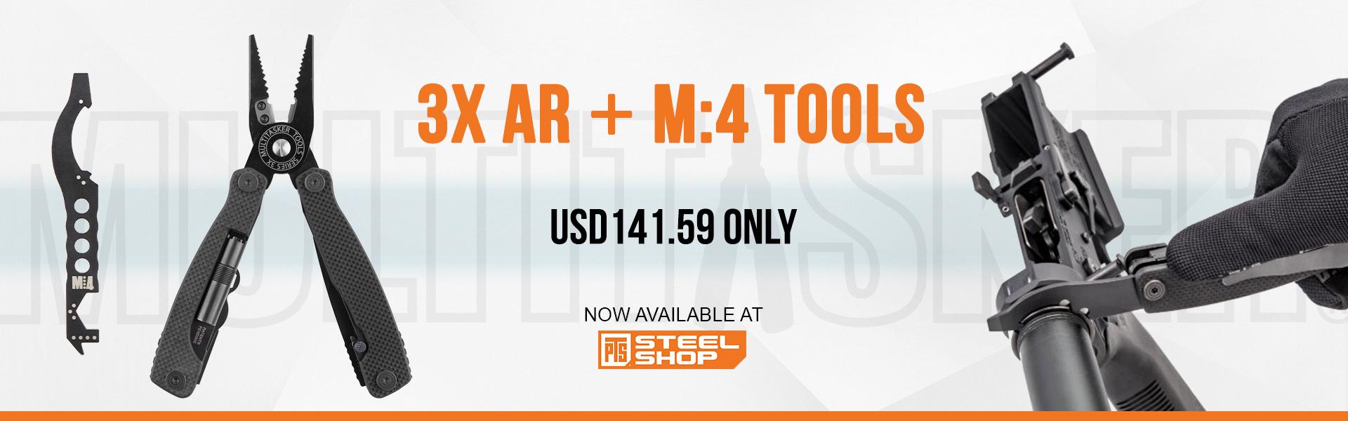 pts steel shop,3x,AR-15,MultiTasker,Tools,Series 3X