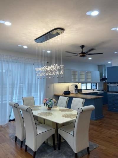 Interior Design : Cahaya Alam U12 Link House Shah Alam