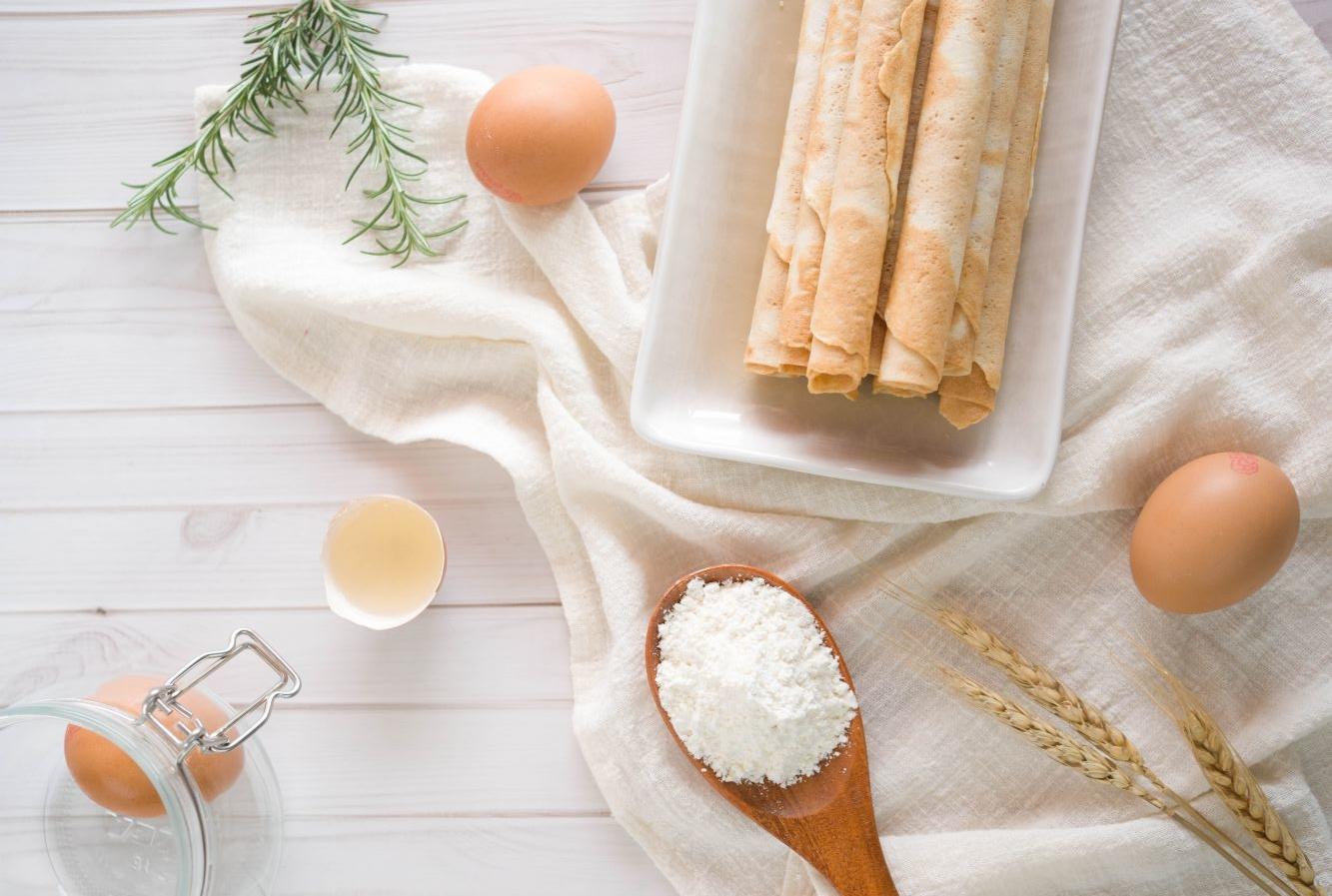 雞蛋與蛋捲
