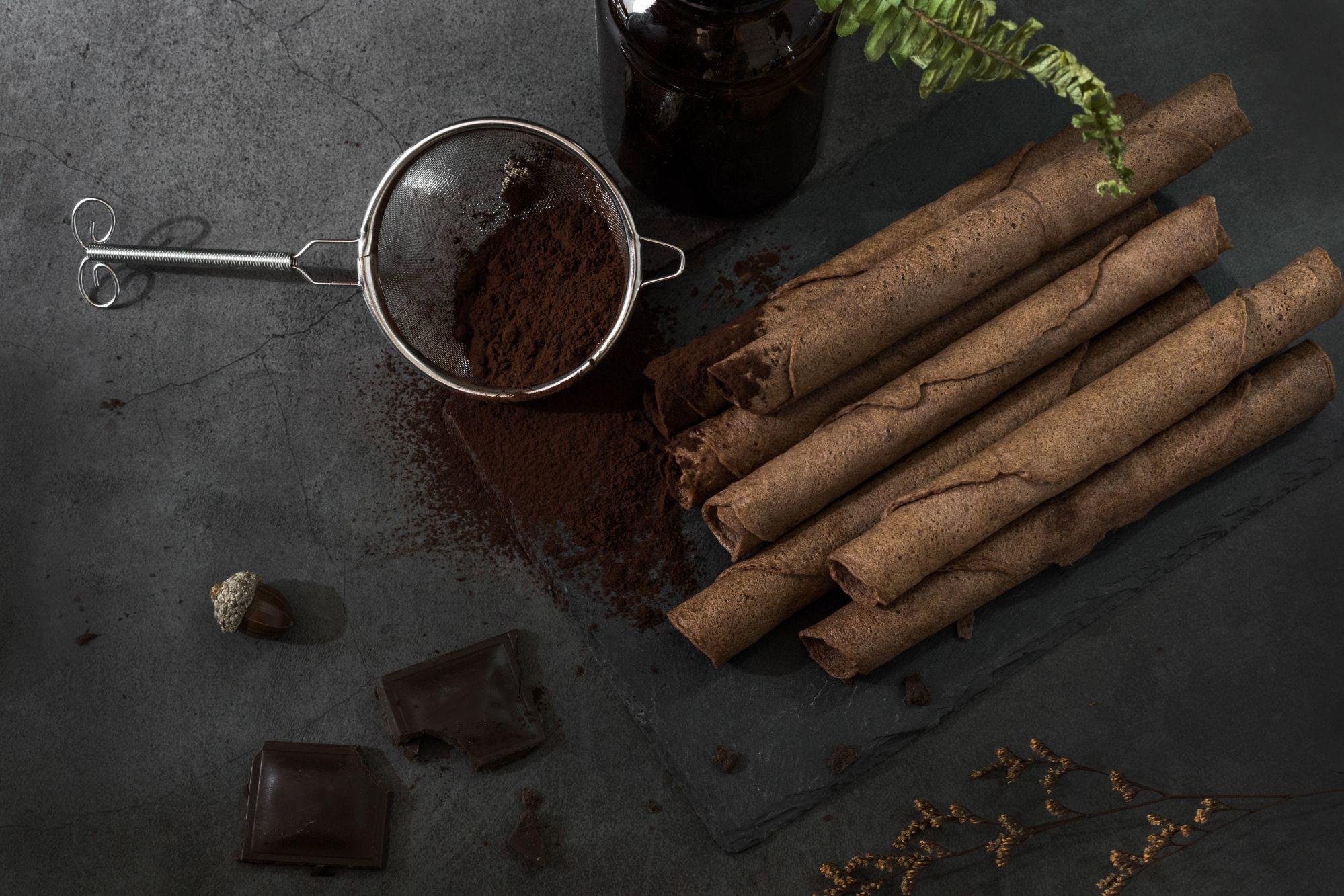 巧克力蛋捲