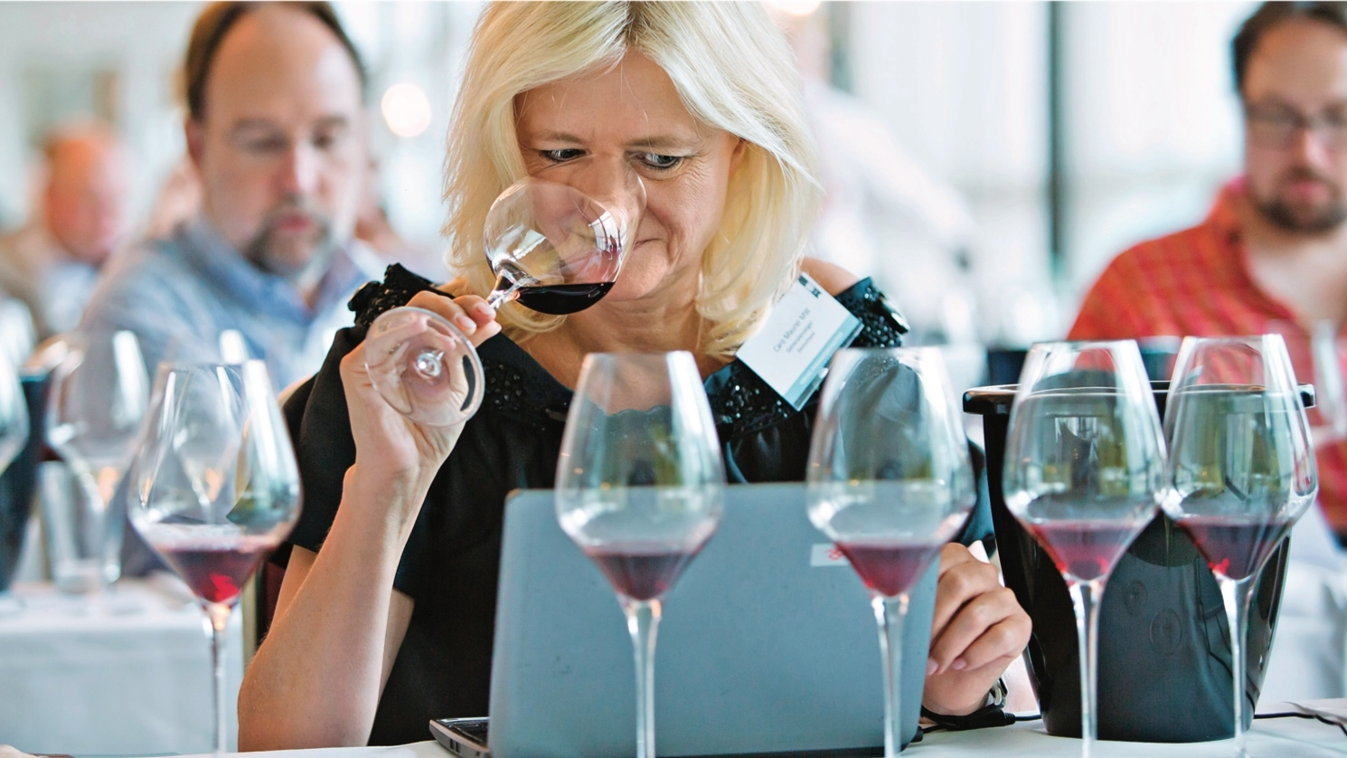 Caro Maurer, master of wine and Bavarian journalist