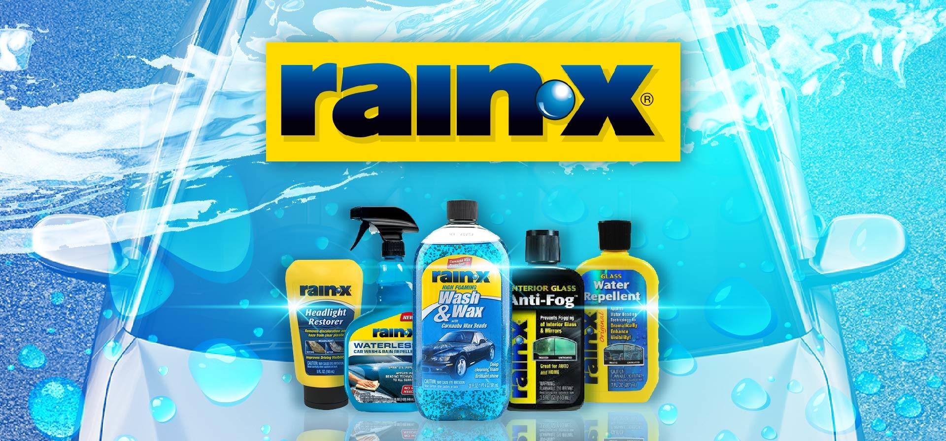 rain x,潤克斯, rain-x, rainx, 汽車美容, 撥水劑, 汽車玻璃 清潔劑, 除油膜, 洗車精, 洗車精 推薦, 美國原裝進口洗車精, 二合一