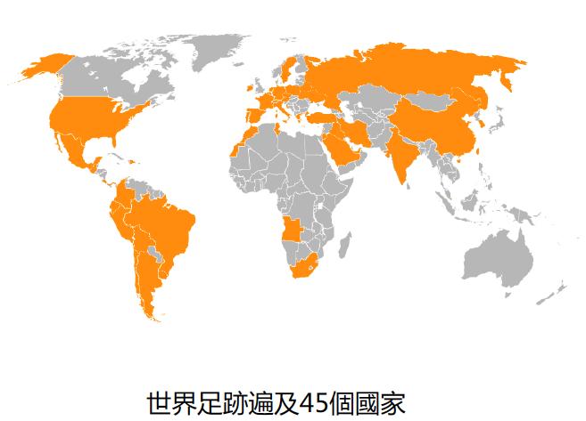ISDIN世界版圖