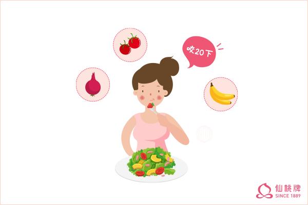 減重有妙方!咀嚼減肥法