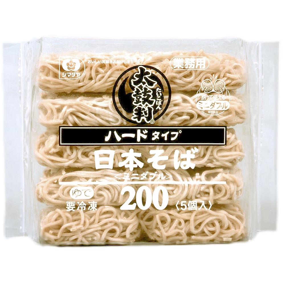 【太鼓判】日本蕎麥麵