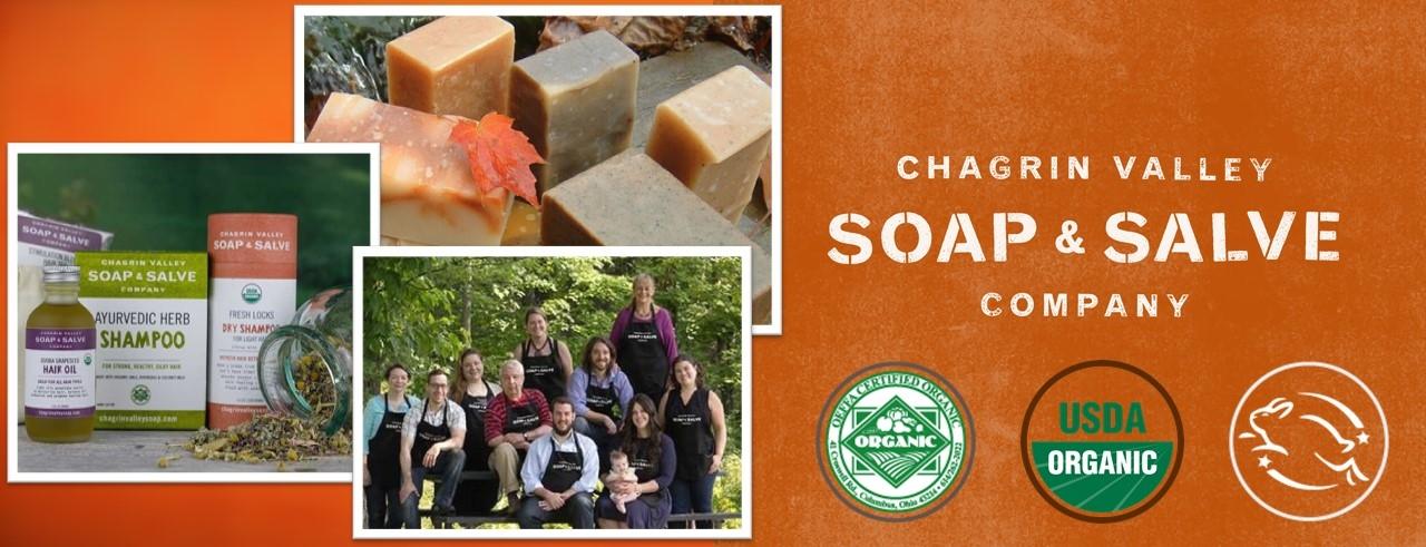 Chagrin Valley Soap & Salve, USDA Organic, certified organic, natural skincare, Estival Life, 盛酷生活, 有機認證, 有機護膚品, 天然護膚品,