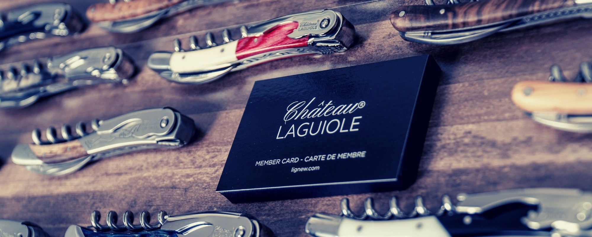 Chateau Laguiole handmade corkscrews collection (new version)