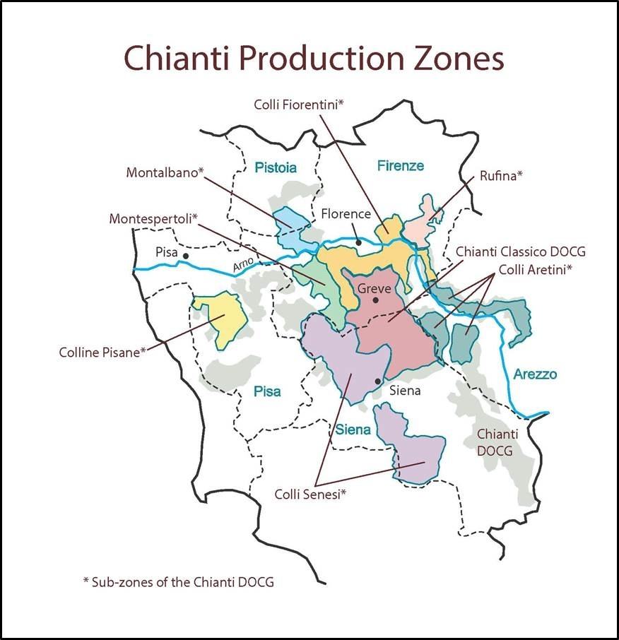 Chianti Production Zone