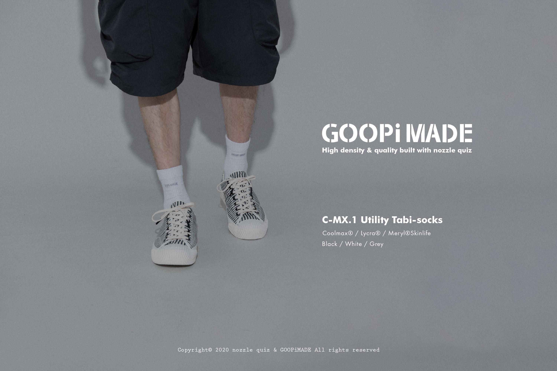 goopi,孤僻,分指襪,tabi,socks