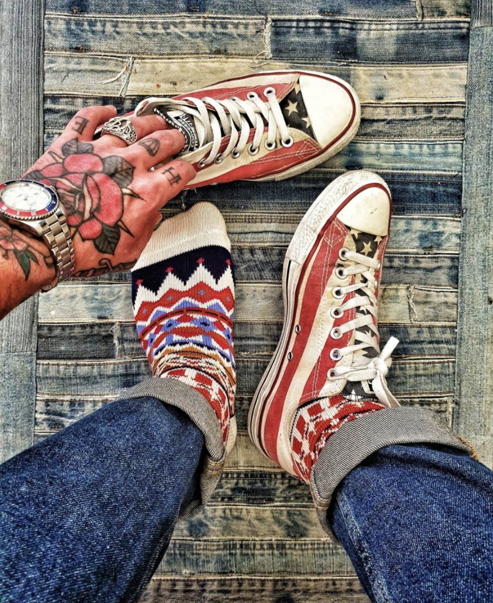 Tanami Tribal Socks