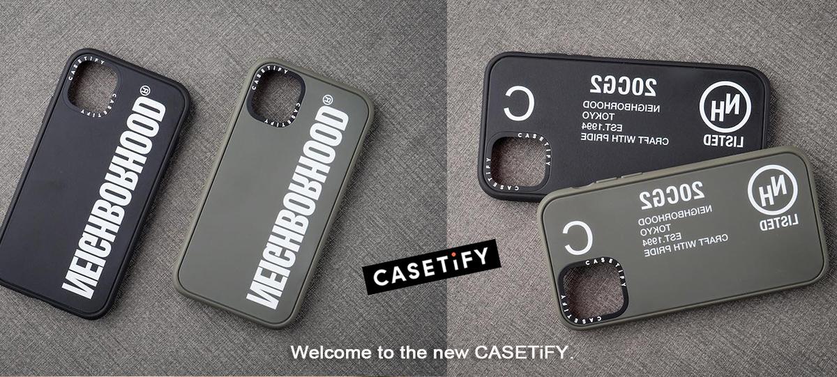 CASETiFY x NEIGHBORHOOD 手機保護殼