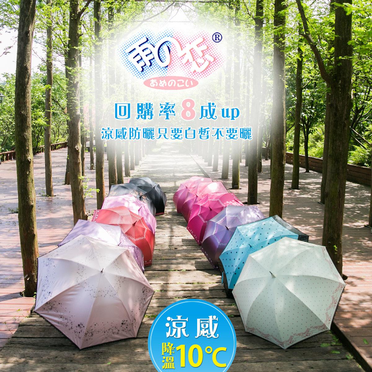 降溫傘,遮陽傘,涼感傘,陽傘,自動傘,10度傘,降溫8度傘,涼感8度,美肌傘,凍齡傘