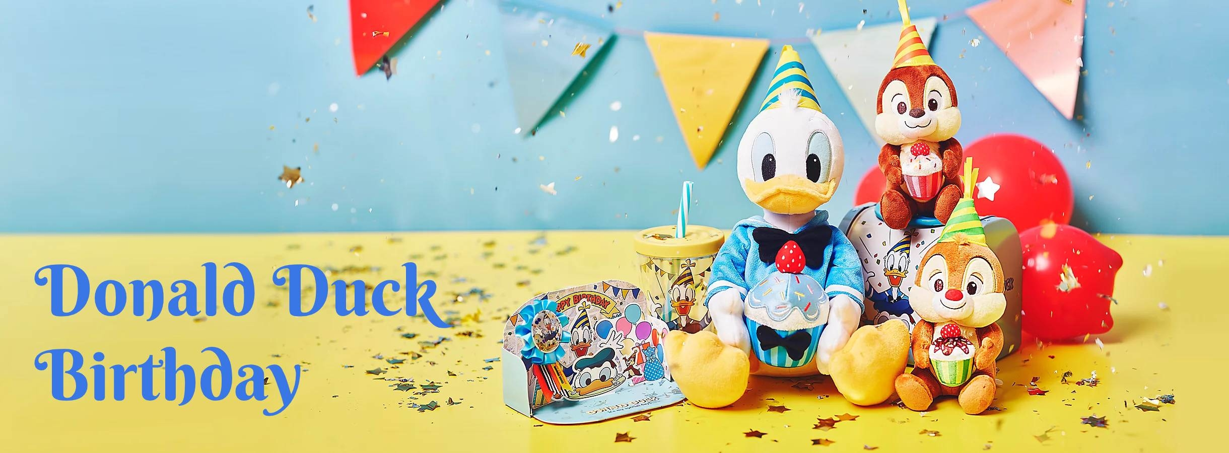 DisneyStore Japan Donald Duck Birthday 2020