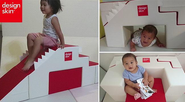 design skin溜滑梯沙發,兒童沙發,