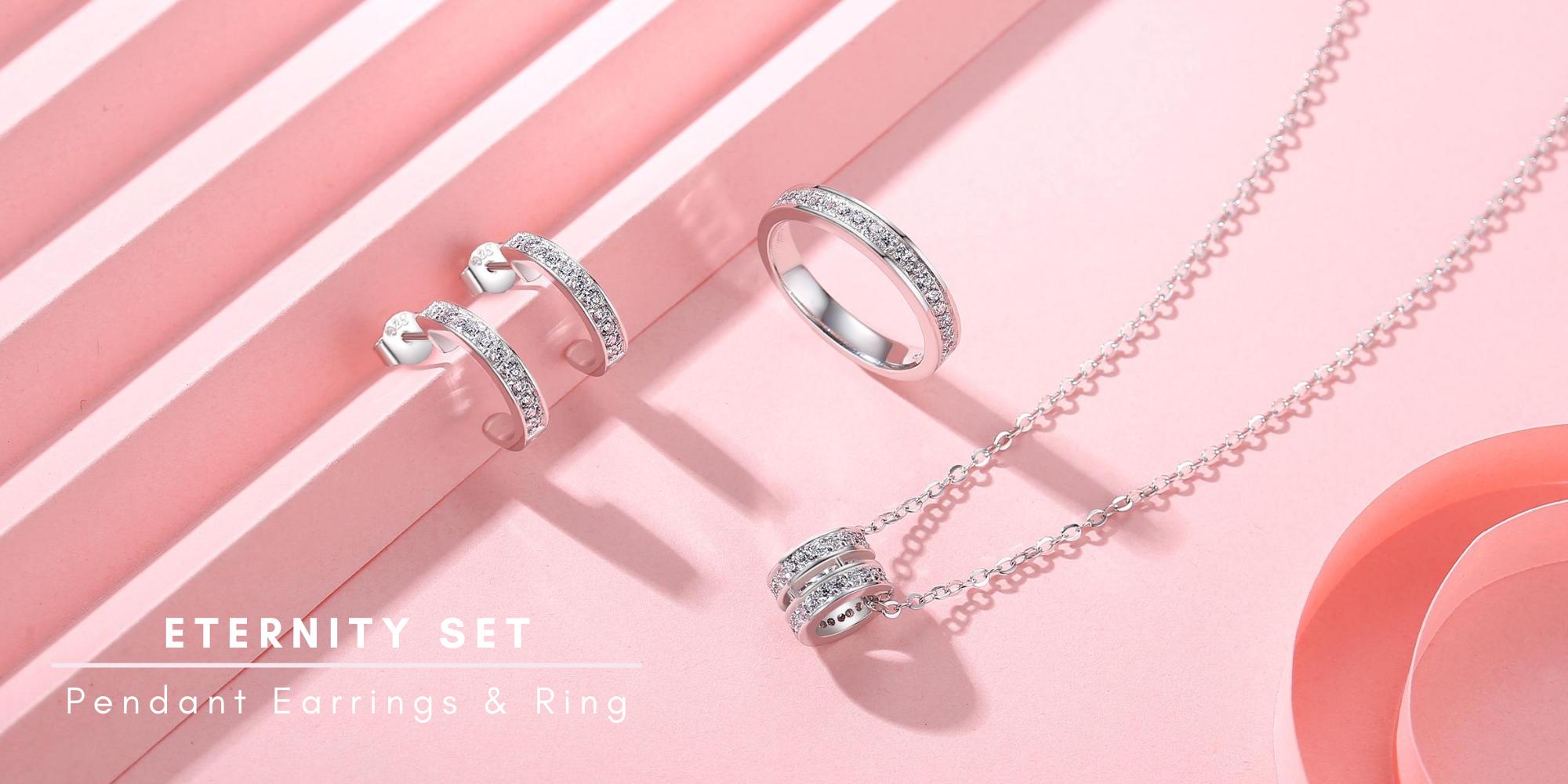 Eternity Jewellery Set