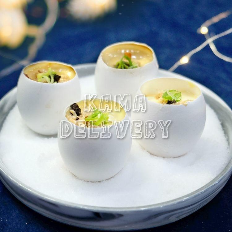 黑松露蟹肉蒸蛋|Premium Master自選人數套餐|多人到會外賣套餐|Kama Delivery美食到會外賣服務
