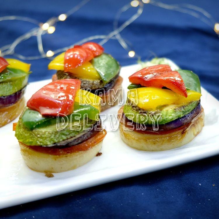 普羅旺斯芝士焗野菌雜菜塔|Premium Master自選人數套餐|多人到會外賣套餐|Kama Delivery美食到會外賣服務