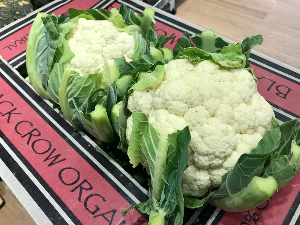 Organic Cauliflower from Australia 澳洲有機椰菜花