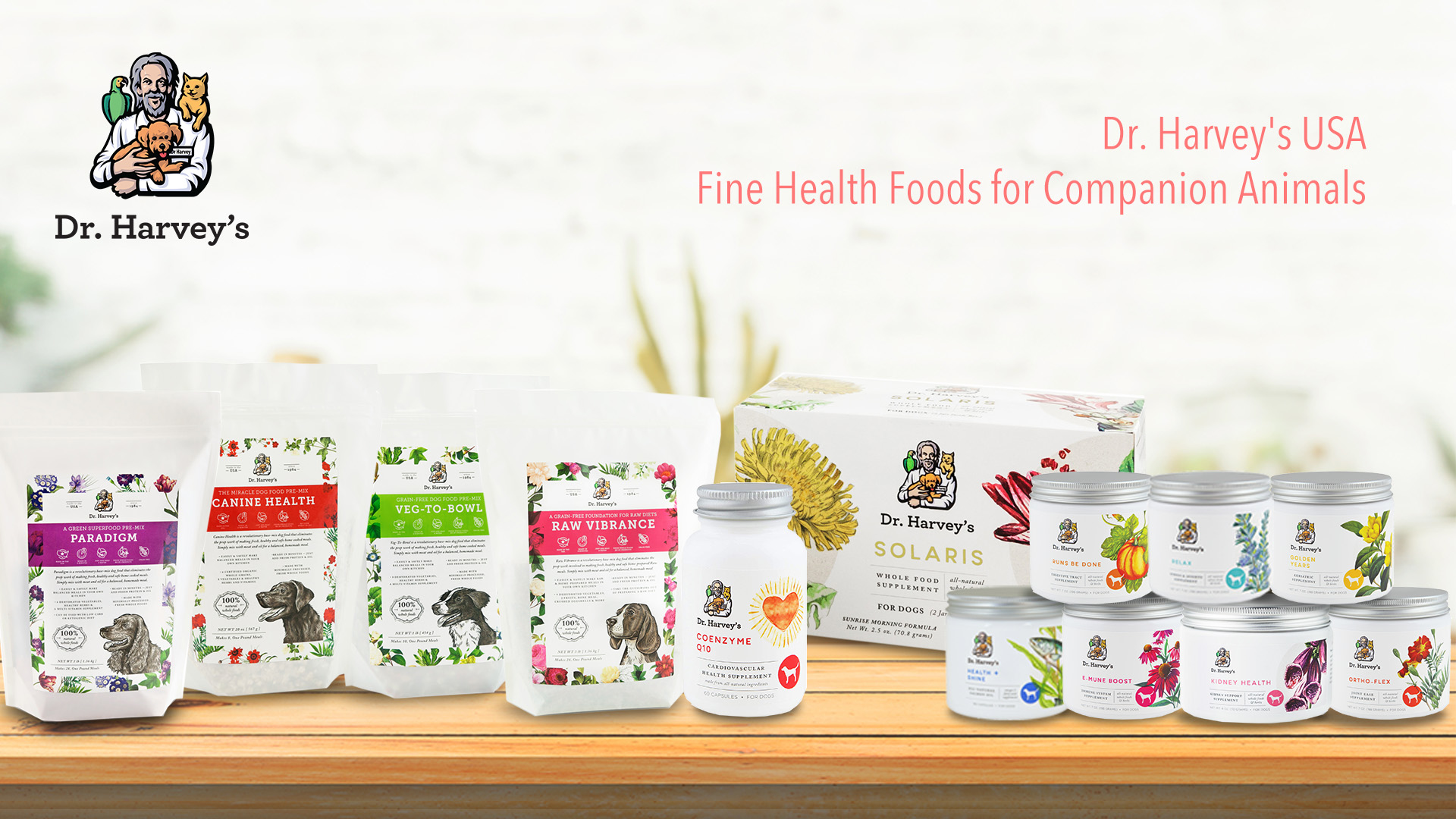 Dr. Harvey's  USA Fine Health Foods for Companion Animals