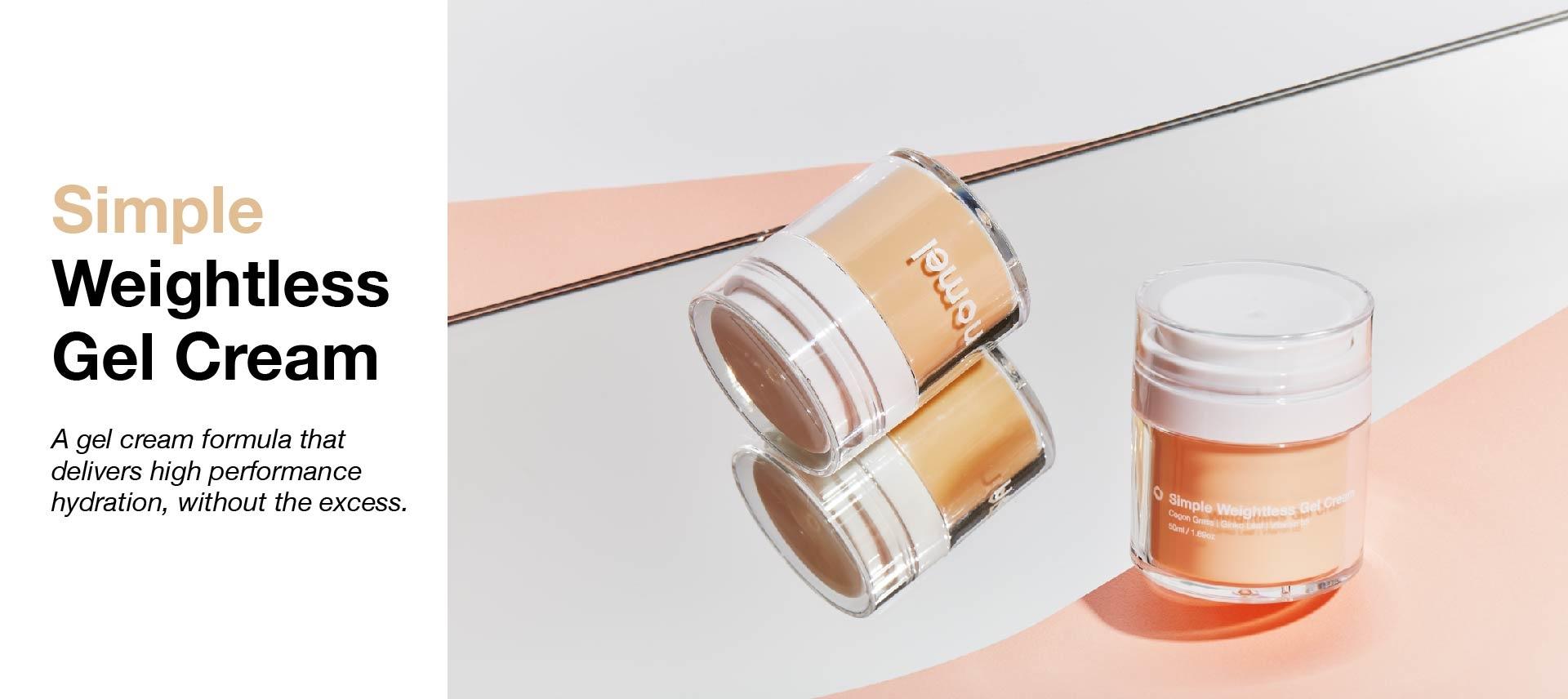 Shop Simple Weightless Gel Cream