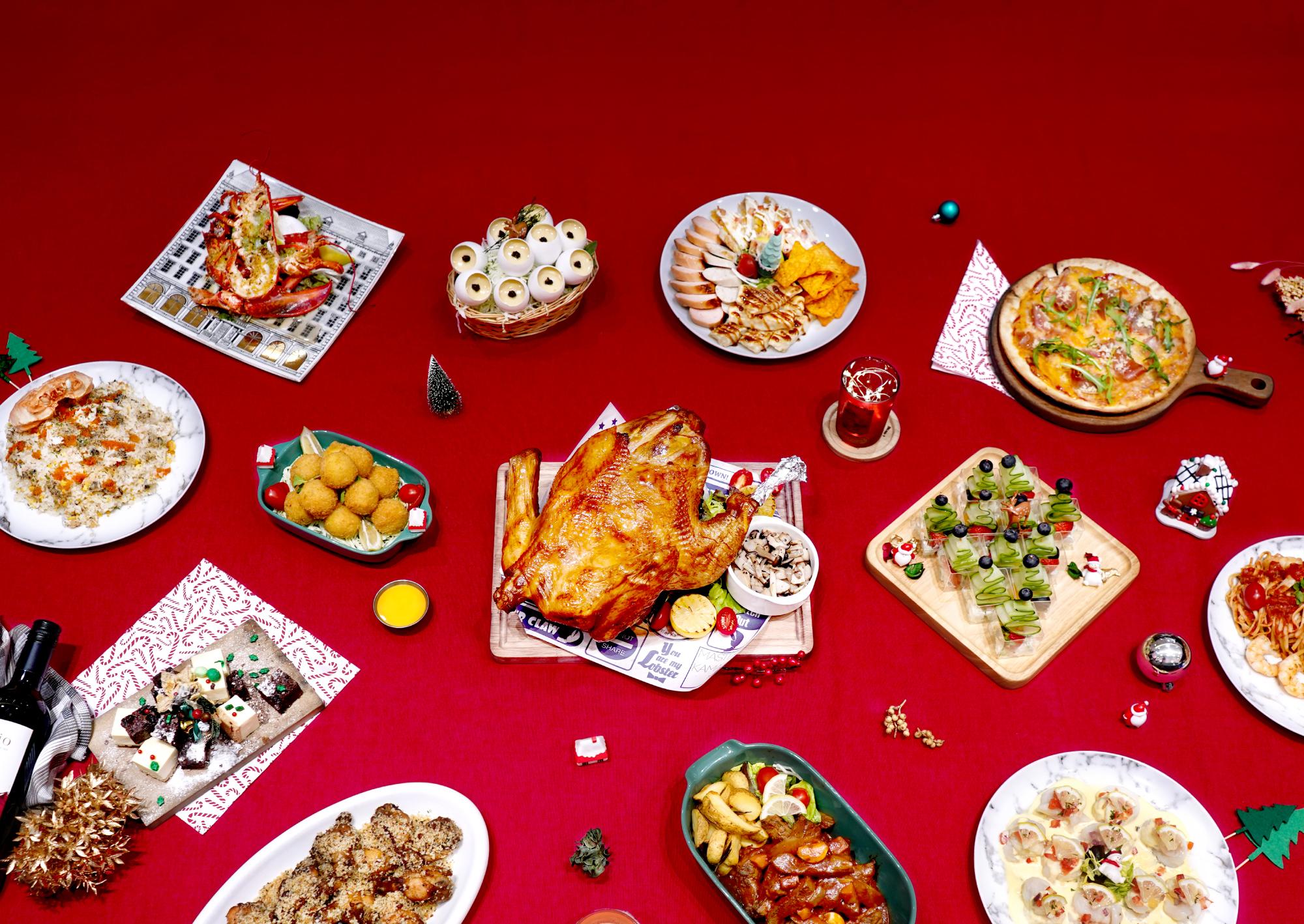 聖誕大餐外賣推介2020|Christams Catering Delivery|聖誕節限定外賣美食|Kamadelivery聖誕餐飲服務全香港直送