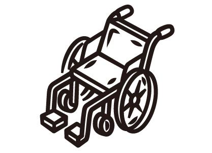 輪椅、電動輪椅