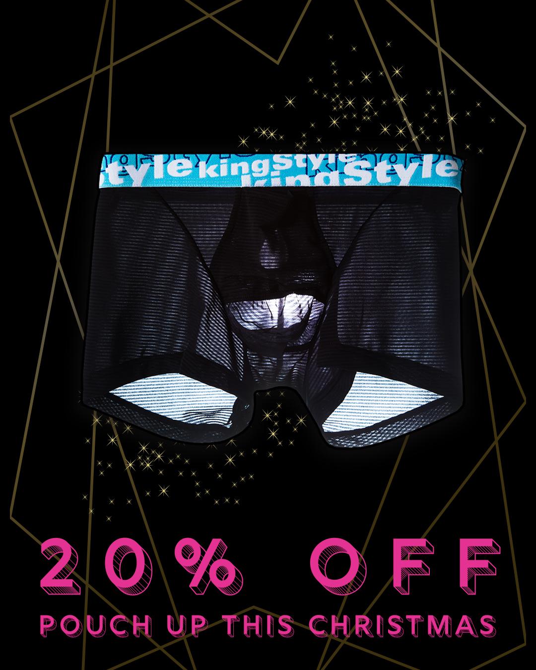 King Style Underwear 男性囊袋內褲