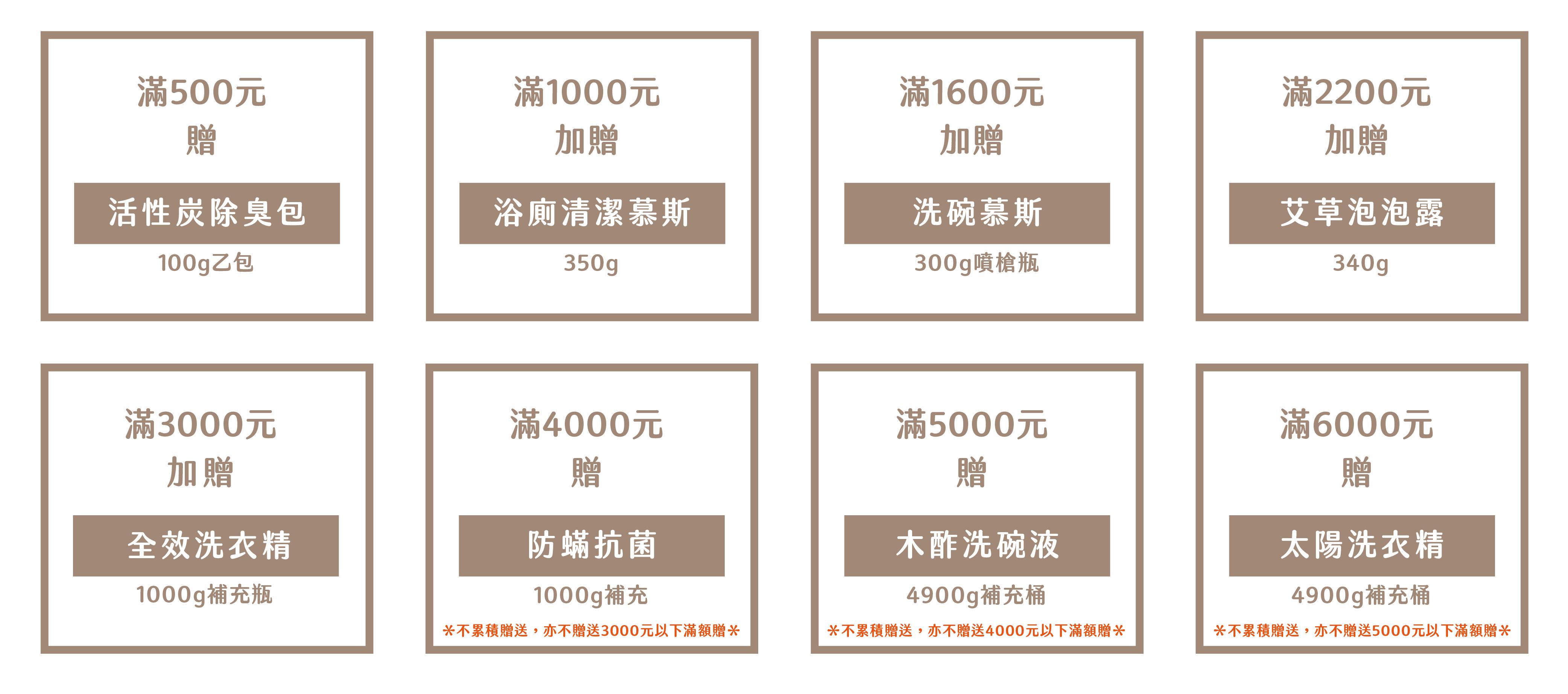 木酢達人官網12月滿額贈