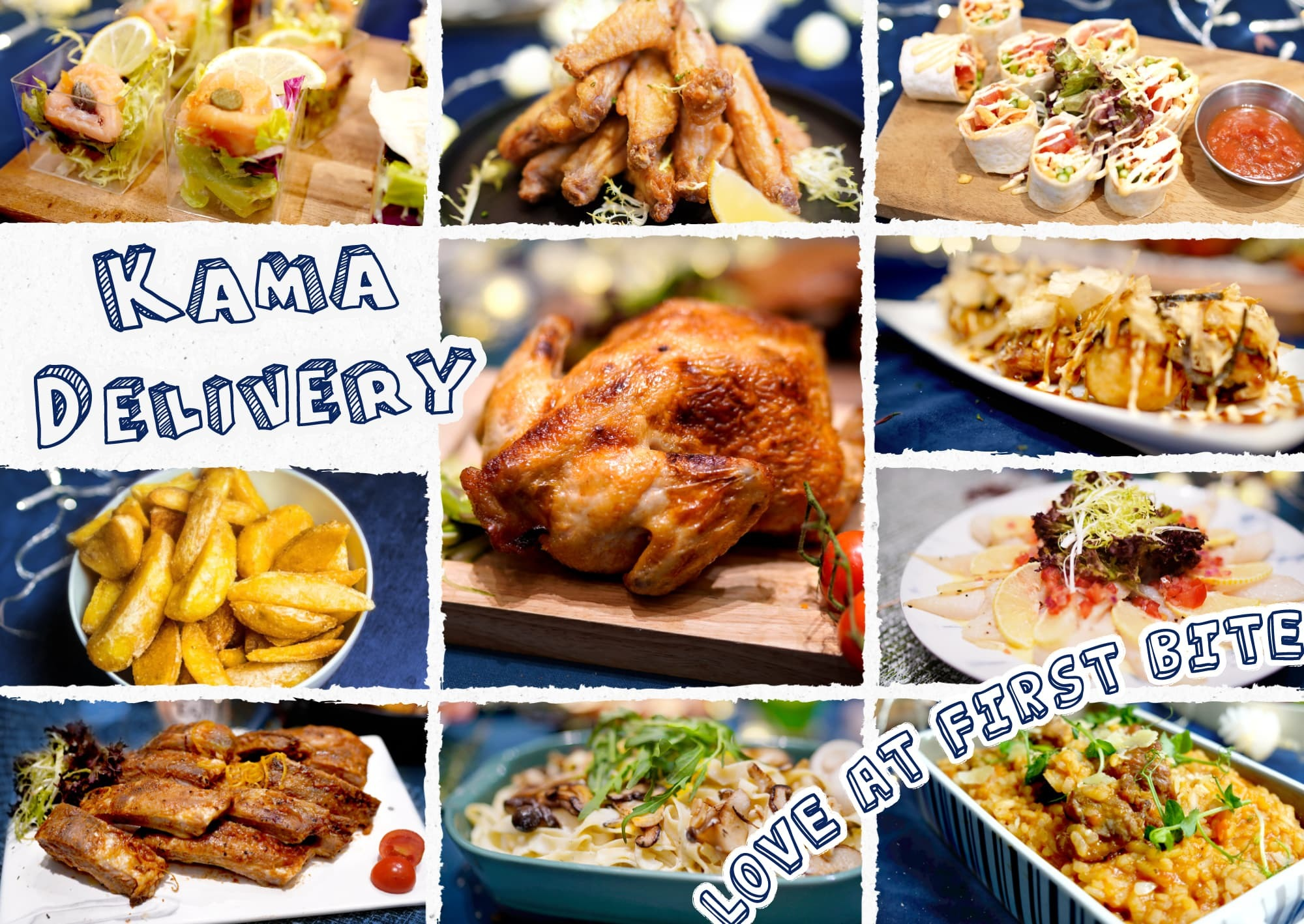 Kama Food到會外賣介紹|Kama Delivery為生日會、慶祝活動、家庭聚會等場合炮製多人外賣美食,歡迎WhatsApp聯絡我們查詢報價。